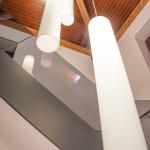Escaleras hotel Casa Blava Alzira