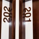 Alzira, Casa Blava, hotel puertas