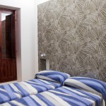 Alzira, hotel, Casa Blava, habitaciones y decoración especial